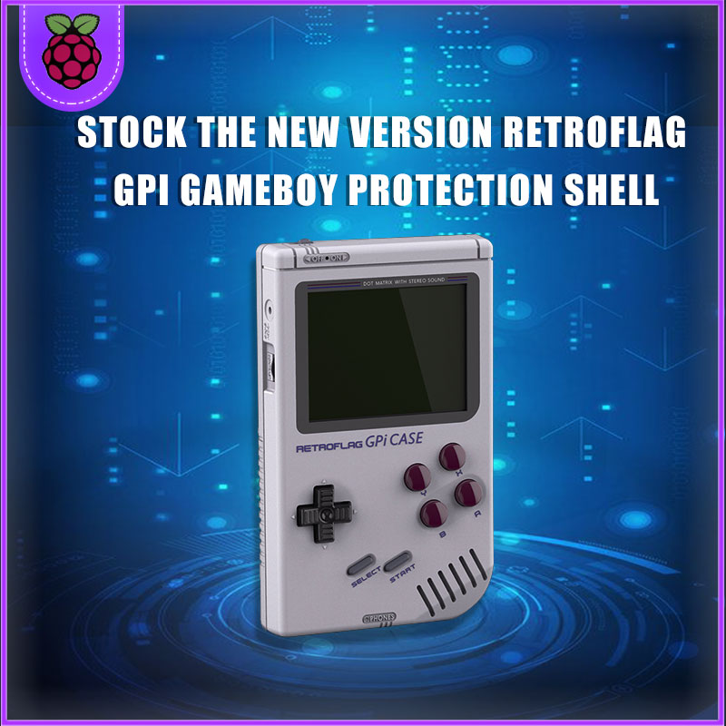 Original Retroflag GPi CASE Gameboy For Raspberry Pi  Zero W With Safe Shutdown