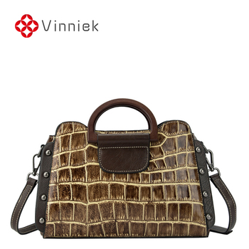Genuine Leather Bag Women Real Leather 2020 European and American Ladies Casual Handbags Retro Big Bag Shoulder Messenger Bags