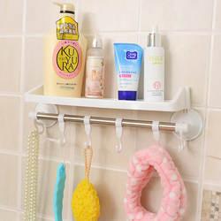 Стойка для ванной комнаты с присоской металлическая вешалка для хранения стены крюк для ванной комнаты крюк для хранения