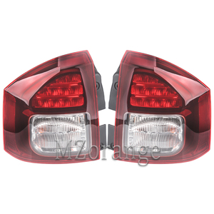 Image 2 - Rear Tail light For Jeep Compass 2014 2015 2016 Tail Stop Brake Warning Lights Car Parts Rear Turn Signal Fog Lamp Car Supplies