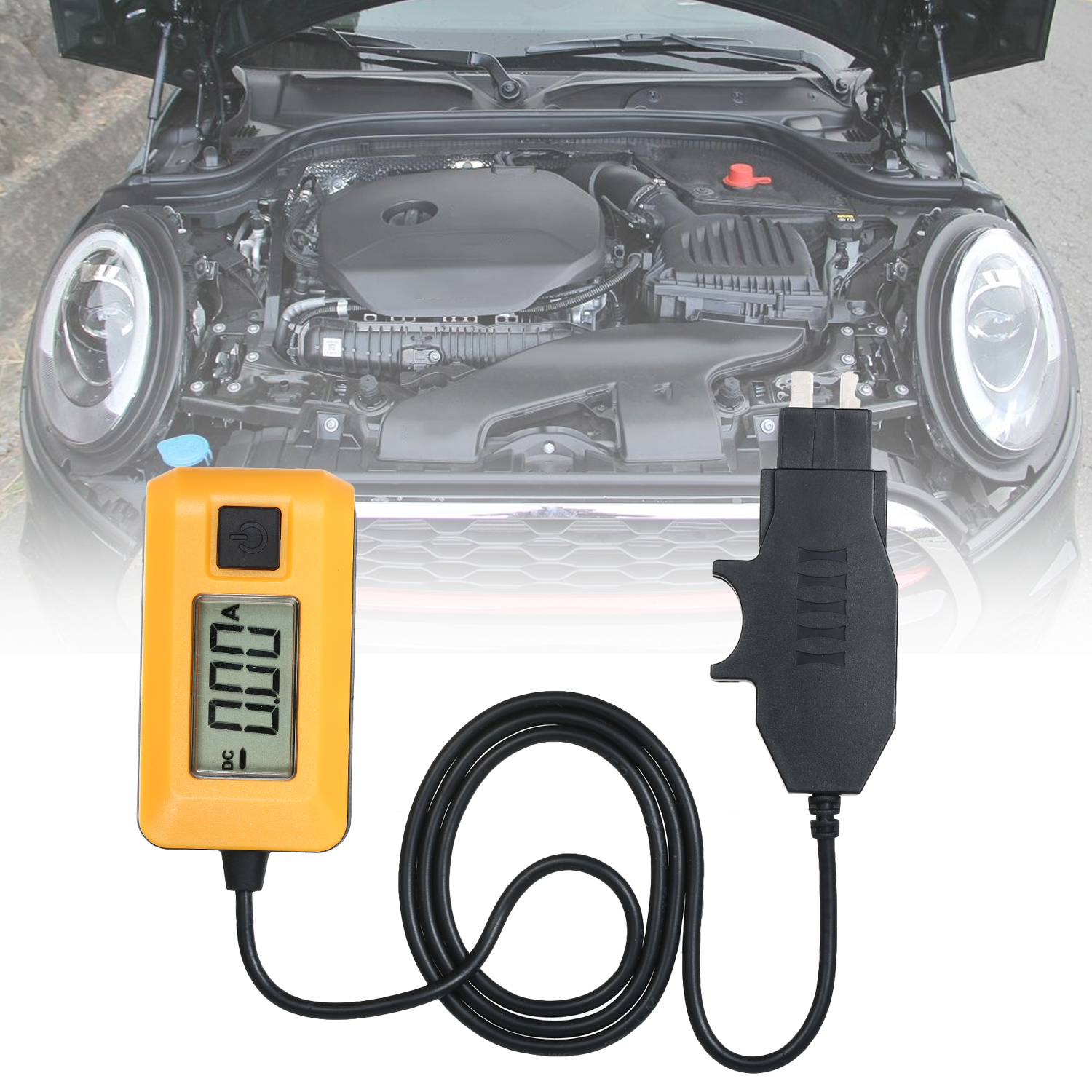 KKmoon Automotive Current Tester AE150 Fuse Tester Fault Finding with LCD Display Multifunction Car Electrical Circuit Diagnostic Tool