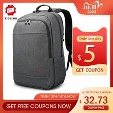 تيجيرنو مكافحة سرقة USB على ظهره 15.6 إلى 17 بوصة محمول على ظهره للرجال الصبي حقيبة مدرسية الإناث الذكور السفر Mochila الأعمال على ظهره