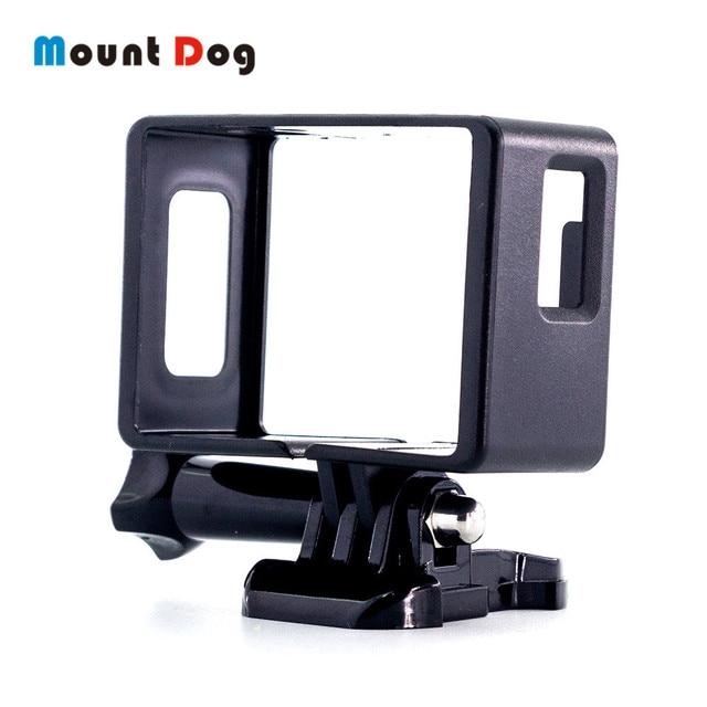 MountDog עבור EKEN H9R SJCAM SJ4000 פעולה מצלמה מגן שיכון מקרה גבול מסגרת מעטפת הר כיסוי