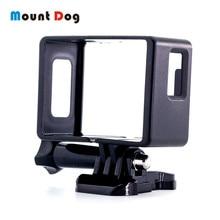Mountdog eken H9R sjcam SJ4000 アクションカメラ保護ハウジングケースボーダーフレームシェルマウントカバー