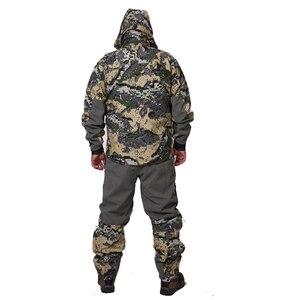 Image 3 - 2019 avcılık suiCamouflage açık ceket erkekler su geçirmez av kıyafetleri rüzgarlık ceket ceket aynı paragraf sitka