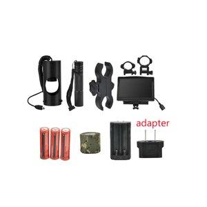 Image 3 - 850nm אינפרא אדום LED IR ראיית לילה Riflescope ציד סקופס אופטיקה Sight ציד מצלמה ציד חיות בר ראיית לילה