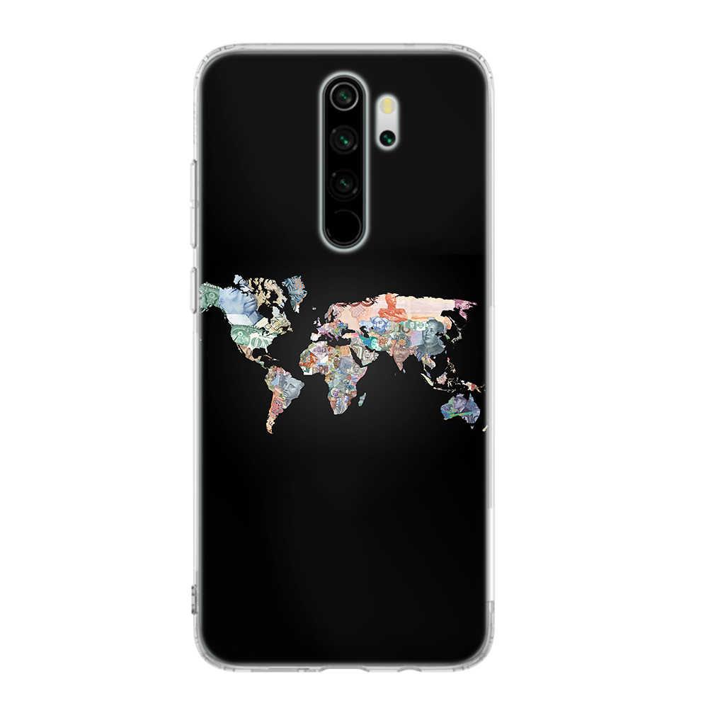 Custodia in Silicone per Xiaomi Redmi Nota 9S 8T 6 7 8 Pro 9 Pro Redmi K20 K30 Pro 6 6A 7 7A 8 8A Copertura