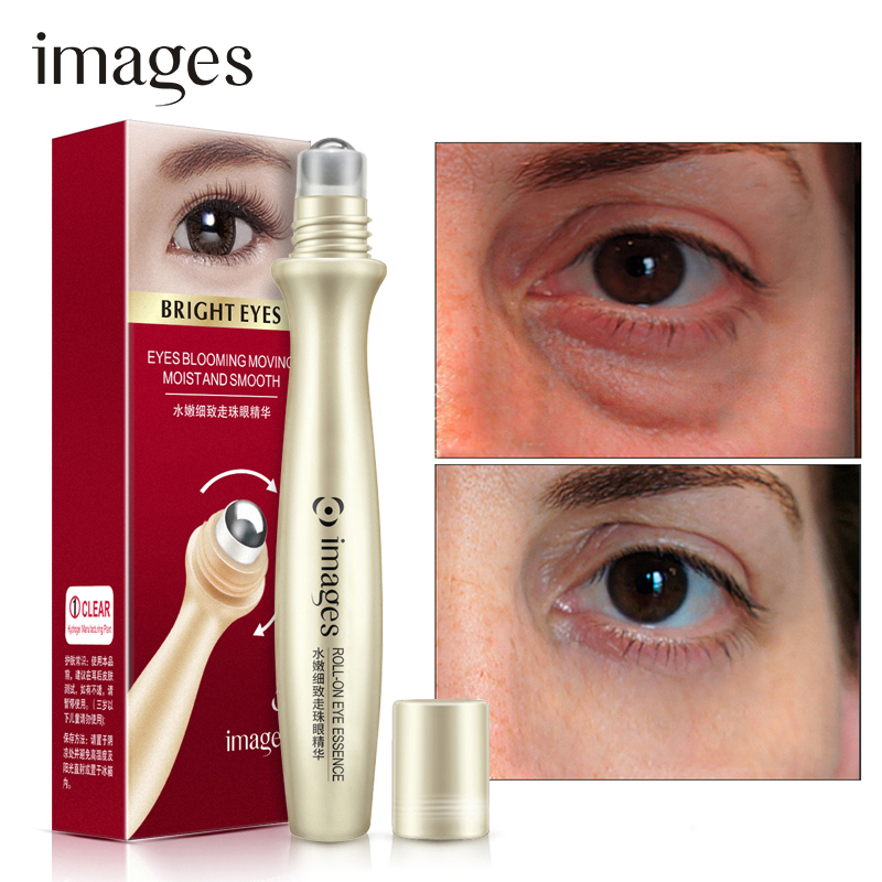 Hyaluronic Acid Eye Serum Anti-Puffiness Remove Wrinkles Skin Care Dark Circle Anti-Aging roll-on applicator MoisturizingIMAGES(China)