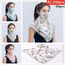 50 шт уличный шарф для велоспорта мужская и женская бандана
