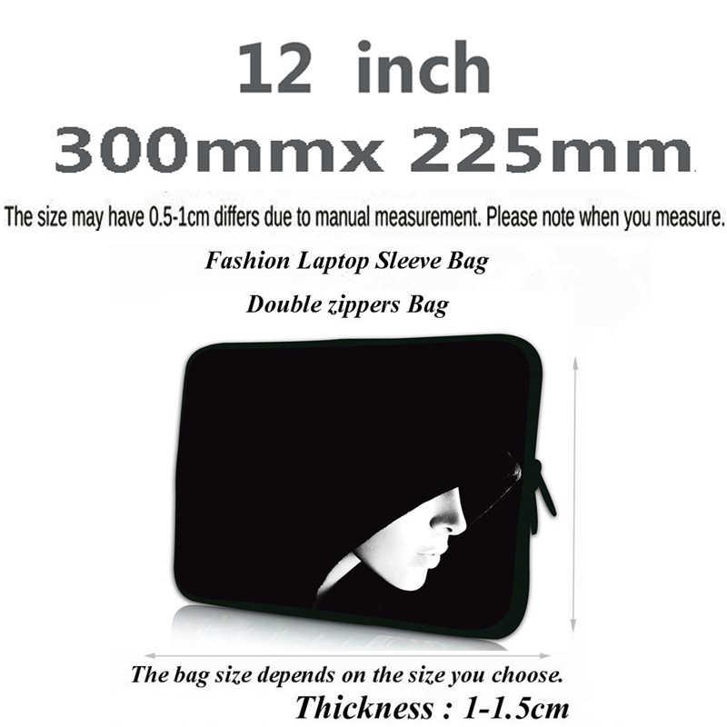 """Néoprène 12 """"pochette d'ordinateur pour HUAWEI MateBook 13 Chuwi Hi12 Macbook Air 11 Acer manchon Chromebook étui 11.6 + petit tapis de souris"""
