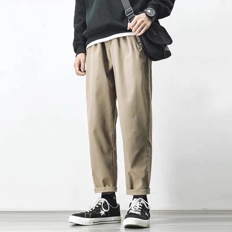 מכנסיים גברים אופנתיים בסגנון משוחרר 5