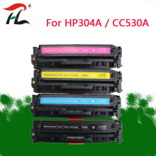 304A  Compatible toner cartridge CC530A CC531A CC532A CC533A for HP Color LaserJet CM2320nf CP2025 CM2320fxi CM2320n