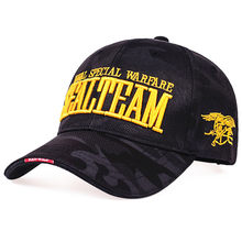 New Fashion United States Marine Corps SEALTEAM Letters embroidery Baseball Cap Unisex Outdoor Hunting Hat Sport Caps Adult