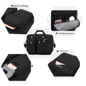 Image 4 - Coolbell New Big capacity 15 15.6 laptop man business shoulder bag Messenger bag for macbook PRO 15.4, 17 inch laptop briefcase