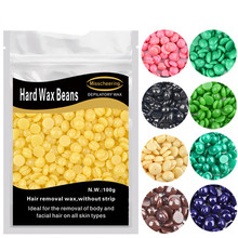 100% New 1 Bag Depilatory Wax 100g Hot Film Hard Wax Beans P
