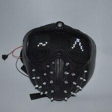 Ключ, дюймовый стандарт маска для костюмированной вечеринки светодиодный выражение WD 2