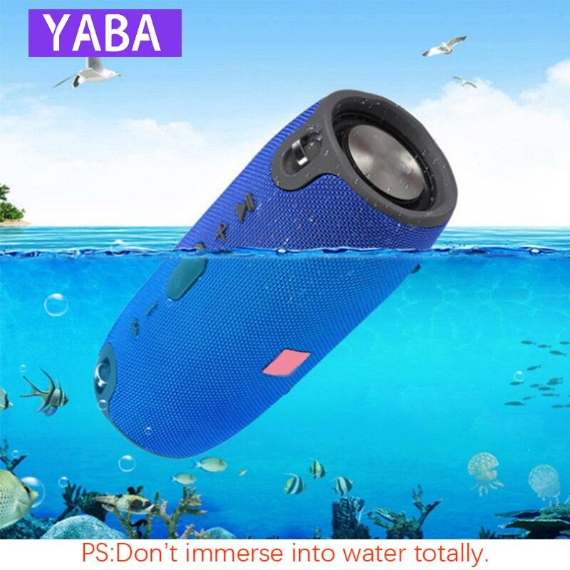 Yaba 40 w alto-falante bluetooth subwoofer tws alto-falante ao ar livre à prova dwaterproof água portátil leitor de música bateria coluna soundbar caixa