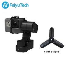 FeiyuTech WG2X poręczny aparat akcji Gimbal odporny na zachlapanie stabilizator do kamery GoPro Hero 7 6 5 4 Sony RX0