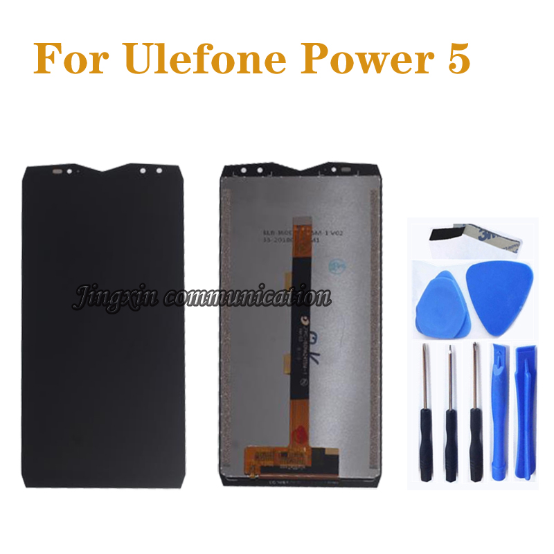 Original Display For <font><b>Ulefone</b></font> <font><b>power</b></font> <font><b>5</b></font> LCD DISPLAY+Touch <font><b>Screen</b></font> Digitizer Replacement for <font><b>Ulefone</b></font> <font><b>power</b></font> <font><b>5</b></font> LCD <font><b>Screen</b></font> Repair Kit image