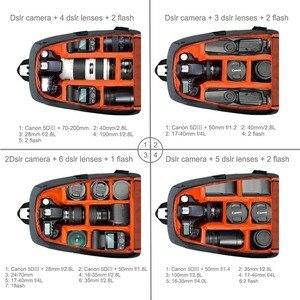 PULUZ открытый портативный водонепроницаемый рюкзак для камеры Lowepro, рюкзак для фото DSLR фото видео объектив, чехлы для ноутбука