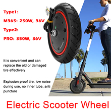 Scooter-Accessories Driving-Wheel M365-Pro Compatible with Electric 250W-350W 36V General-Purpose