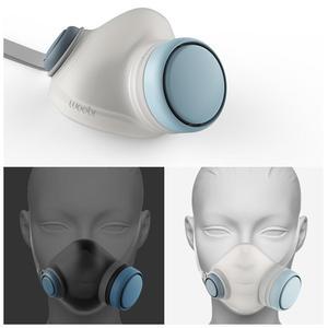 Image 4 - Xiaomi Woobi Viso Maschera di Filtro HEPA Pulito Respirazione Sicuro Respiratori del Blocco di Polvere PM2.5 Haze Anti Inquinamento Maschera di Aria Per Bambini per gli adulti