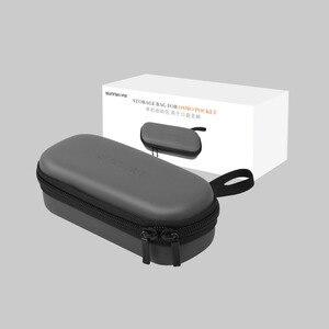 Image 4 - Osmo Tasche Lagerung Tasche Tragbare Fall PU Wasserdichte Stoßdämpfer Tasche Filter Ersatzteile Box Für DJI Osmo Tasche Kamera