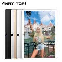 10 cal tablet z androidem z podwójne gniazdo kart sim 4G odblokowany telefon GSM otrzymać telefon zwrotny od tabletek octa core 4GB pamięci RAM 64GB ROM WIFI OTG aparat