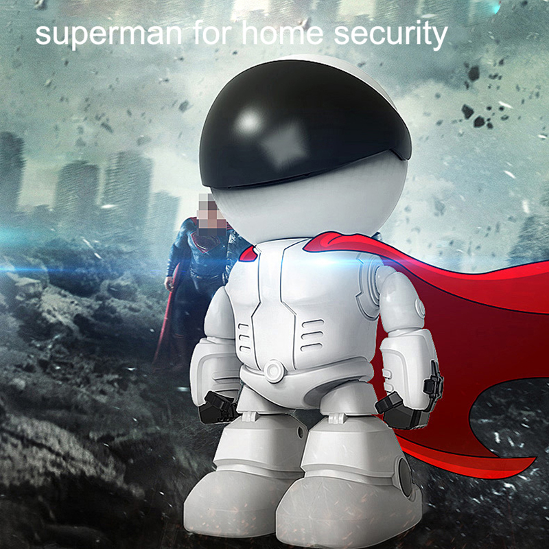 Wireless Robot Camera WIFI IP CCTV Cam Baby Monitor Support P2P Remote Surveillance HD H.264 IR Night Vision for Android or IOS 6