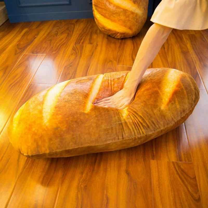 40cm ekmek tasarım peluş atmak yastık sevimli yumuşak çıkarılabilir yıkanabilir dekoratif yastık çocuk odası kız arkadaşı mevcut doldurulmuş oyuncak