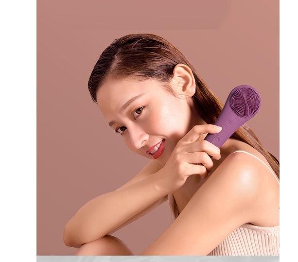Gesichtsreiniger Wiederaufladbare Elektrische gesicht pinsel Reinigung pinsel Poren Reinigung Gerät Wasserdicht 4 Pinsel Köpfe 2 Getriebe - 4