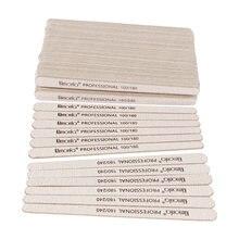 200 шт деревянные полировальные пилки для ногтей 100/180/240