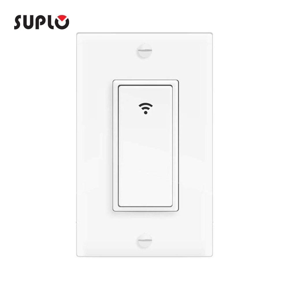 Смарт-светильник SUPLO, WIFI, переключатель, мобильное приложение, дистанционное управление, без концентратора, дистанционное управление, тайме...