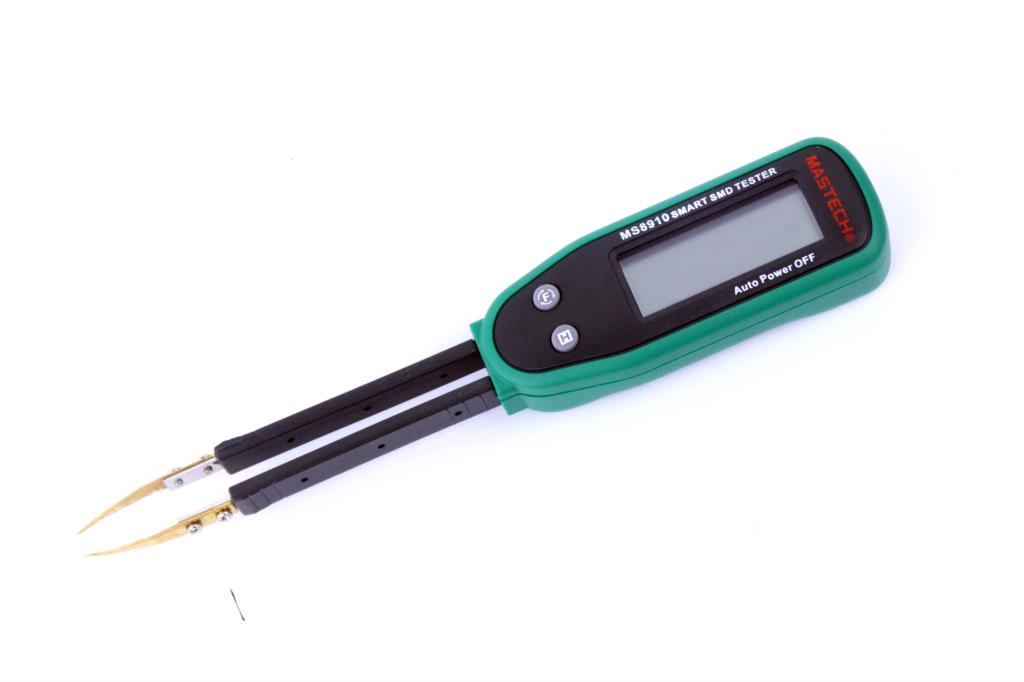 Smart SMD Tester Mastech <font><b>MS8910</b></font> RC Resistance Capacitance Diode Tester LCD Display Multi Meter Free shipping image