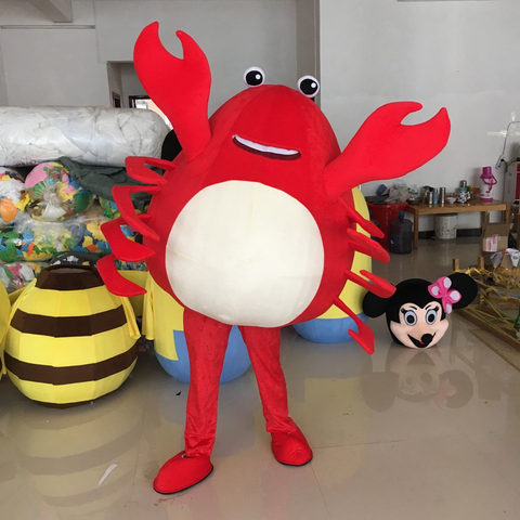 tml cosplay vida marinha camarao caranguejo mascote traje camarao personagem dos desenhos animados traje