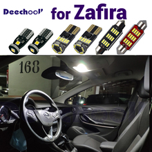 Canbus Error Free Pure White Car Interior Light Bulbs for Opel for Zafira LED Indoor Dome Map Glove box Trunk Light