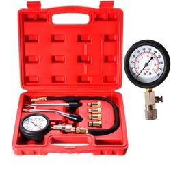 Próbnik ciśnienia Tester miernika ciśnienia zestaw silnika Auto benzyna gaz Cylinder silnika zestaw wskaźników ciśnienia motocykla samochodu 0 300psi Instrument narzędzie Samochody i motocykle -