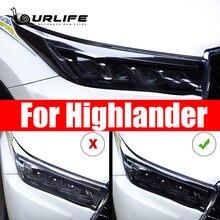 Для toyota highlander 2020 2019 2018 товары для автомобиля черная