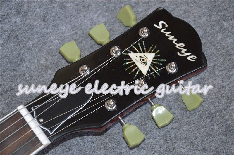 Suneye Bungurdant Standard Electric Guitar White Guitar Binding Electrica Guitarra Floyd Rose Tremolo Guitar Available in Guitar from Sports Entertainment