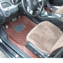 цена на lsrtw2017 leather car interior floor mat for dodge journey fiat freemont 2009 2010 2011 2012 2013 2014 2015 2016  accessories