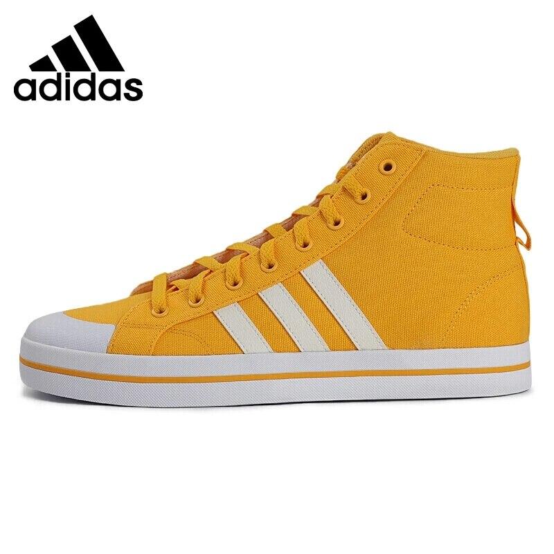 Original New Arrival Adidas NEO BRAVADA MID Men's Skateboarding Shoes Sneakers
