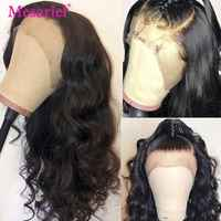 Mesariel Brazilian Body Wave Hair 13x4 Lace Frontal Wig Remy Long Lace Frontal Human Hair Wigs For Black Women 8-24 Inches