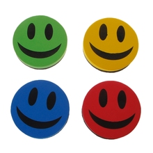 Smiley магнитная доска сухая салфетка для рисования губка-стиратель ластик для школы офиса