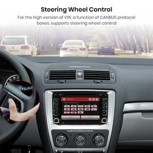 Image 5 - AWESAFE 2 Din 7 inch Car DVD GPS Radio Player For Volkswagen VW golf 5 6 touran passat B6 B7 sharan JATTA Skoda Seat Autoradio