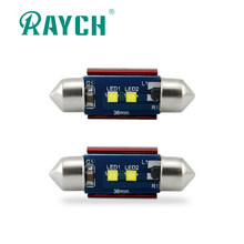 Raych feston 31mm 36mm 39mm 41mm LED ampoule C5W C10W Super lumineux Canbus sans erreur(China)