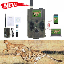 Hunting Trail Camera 1080P 32GB 5mp Waterproof Color Cmos Wild Animal Infrared LED Camera Hunter Cam Monitoring Infrared Camera zwo asi385mc camera color