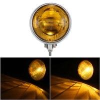 Universal 12V LED Moto Motorcycle LED Headlight Headlamp Front Lights Driving Lamp
