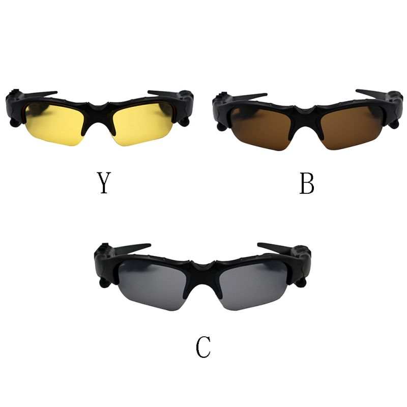 Wireless bluetooth headset Sunglasses Headset Outdoor Sports Music Bluetooth Headphone Glasses With Mic