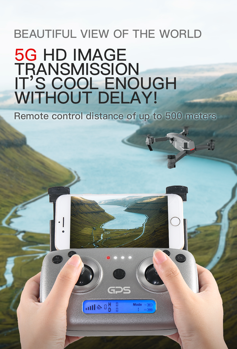 SG907 WIFI RC Quadcopter GPS Drone with 4K HD Dual Camera for Wide Angle Video Shooting 25