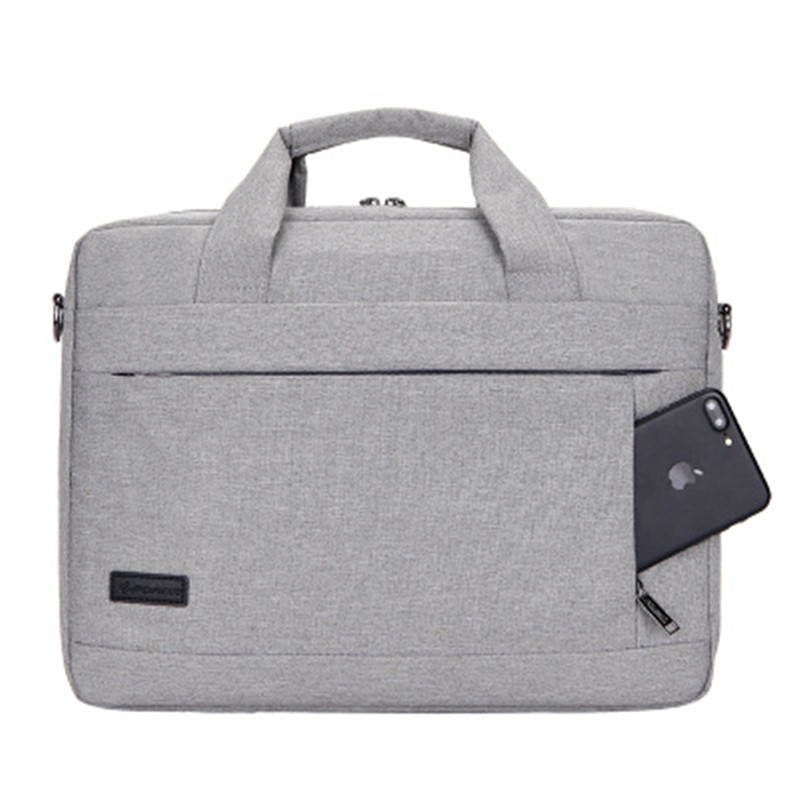 SHUJIN Laptop Handbag Large Capacity For Men Women Travel Briefcase Bussiness Notebook Bags 14 15 Inch Macbook Pro  PC